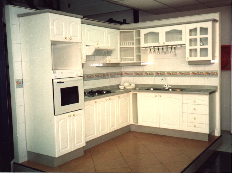 Cocina de color blanco comprar en Temuco