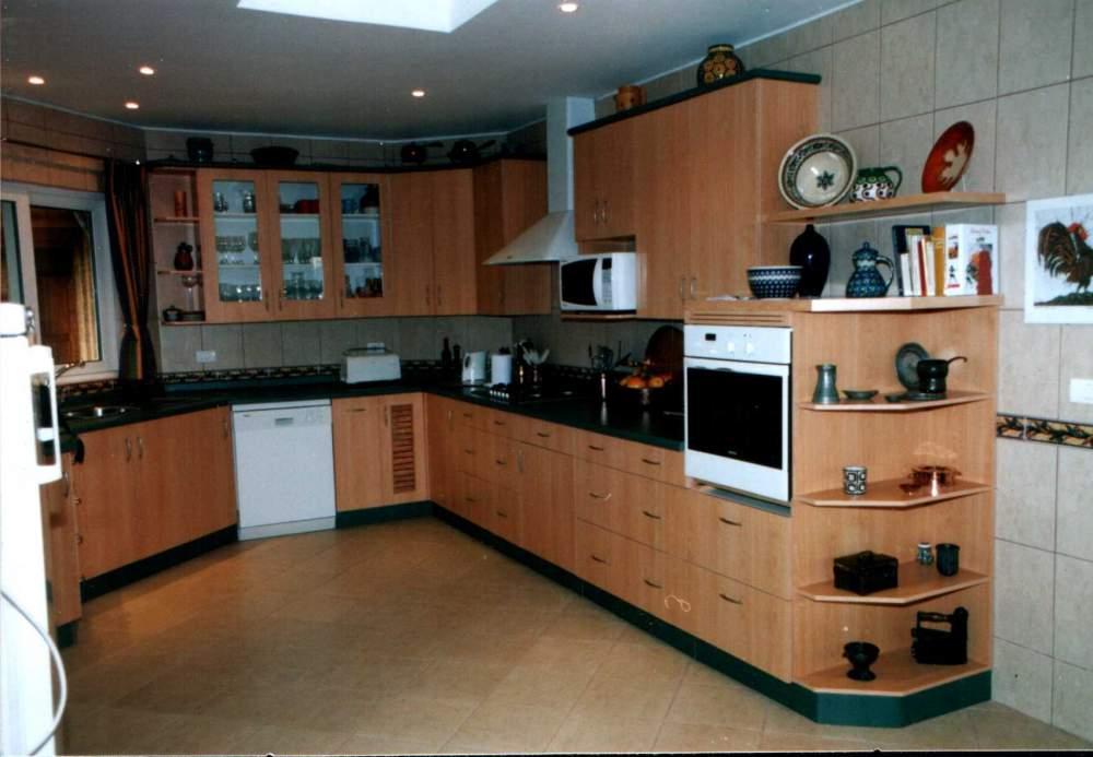 Muebles de cocina en melamina, Precio de , Fotos de Muebles de cocina