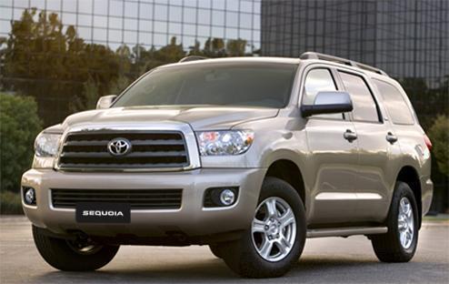 Compro Vehículo Toyota Sequoia
