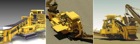 Comprar Trituradoras móviles para minería P&H