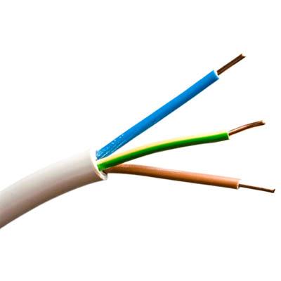 Compro Alambre Eléctrico, 3 conductores de 1,5 mm de grosor cada uno.