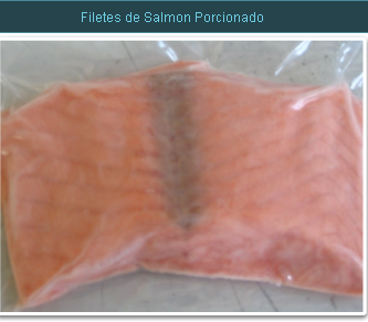 Comprar Filetes de Salmon Porcionado