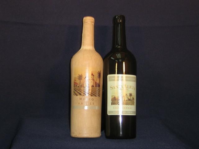Comprar Media Botella de cerámica