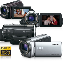 Comprar Cámaras de Video Sony HD