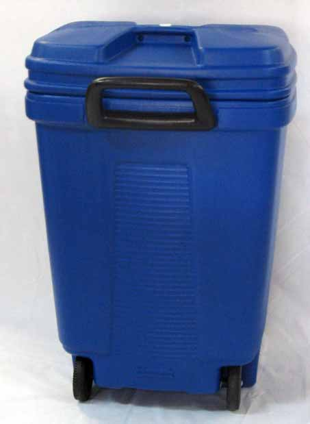 Comprar Tarro Rectangular con rueda de 120 litros