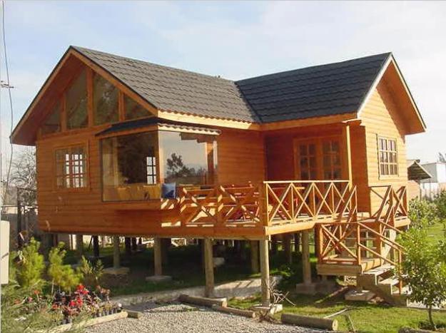Casa de madera comprar casa de madera precio de - Casas de madera de troncos ...