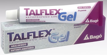 Comprar Antinflamatorio analgésico Talflex
