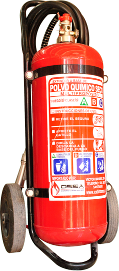 Extintor Polvo Químico Seco 25 kg