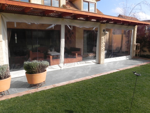 Cierre de Terrazas PVC Solarsol comprar en Vitacura