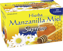 te de manzanilla con miel