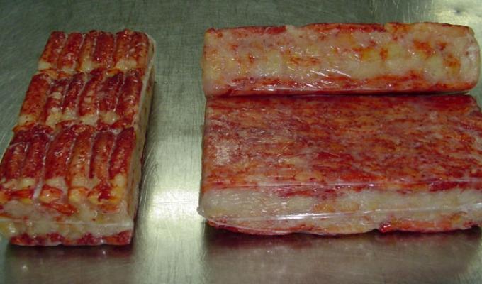 Compro Carne de centolla congelada