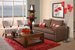 Comprar Sitiales, sofá 2 cuerpos y mesa de centro