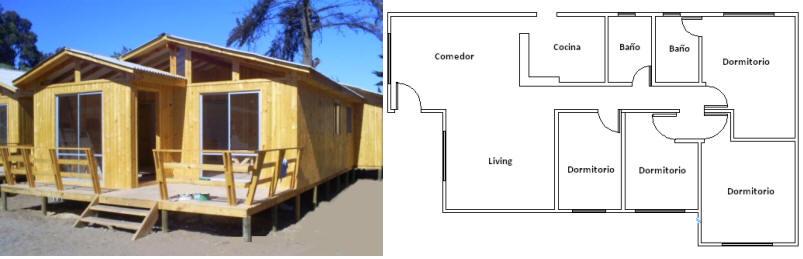 Casa Prefabricada Modelo 72mts2 Comprar En Cisterna