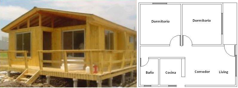 Casa Prefabricada Modelo 60mts2 Comprar En Cisterna