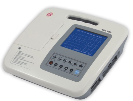 Comprar Electrocardiógrafo Digital 3 Canales, marca Carewell ECG-1103G