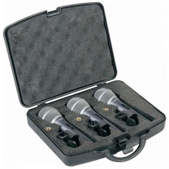 Comprar Set de 3 micrófonos dinámicos DM2.0S-3 con switch