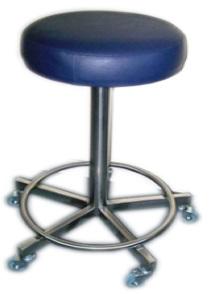 Comprar Piso Clínico de Acero Inoxidable con Aro Posa Pies, marca Metal-Clinic PA001