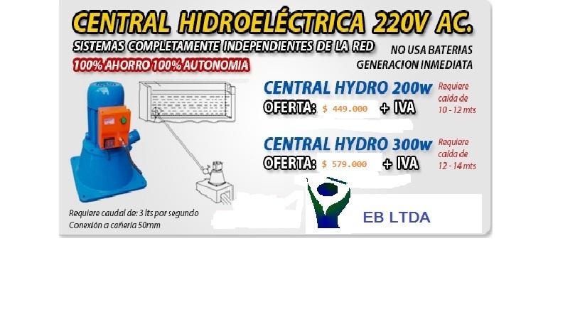 Comprar Mini centrales hidro eléctricas