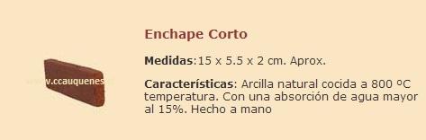 Comprar Enchape de Ladrillo Corto
