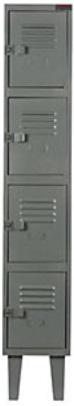Comprar Locker Metálico, marca Equimet G-100-4