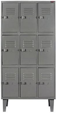 Comprar Locker Metálico, marca Equimet G-300-3