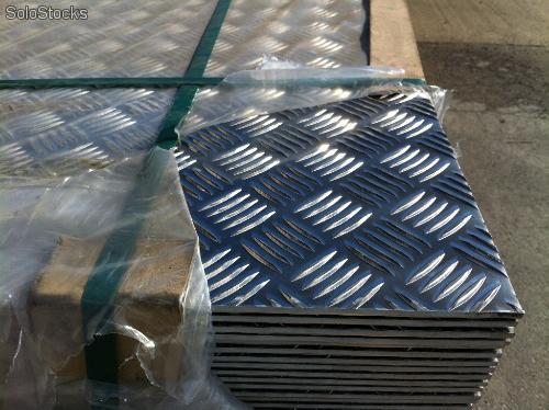 Comprar Planchas de aluminio diamantado