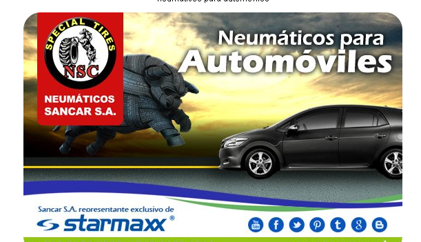 Comprar Neumaticos para automoviles