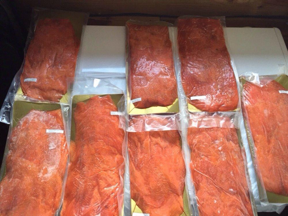 Comprar Salmon slice carpaccio ahumado