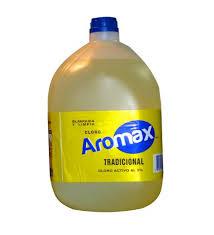 Comprar Cloro Aromax al 3 % 5 lts.