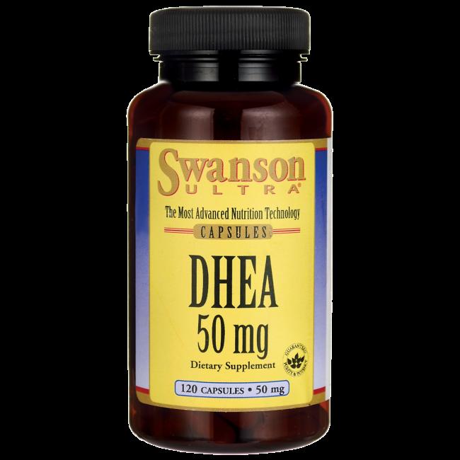 Comprar Dhea Laboratorio Swanson, 120 Cáspulas de 50Mg.
