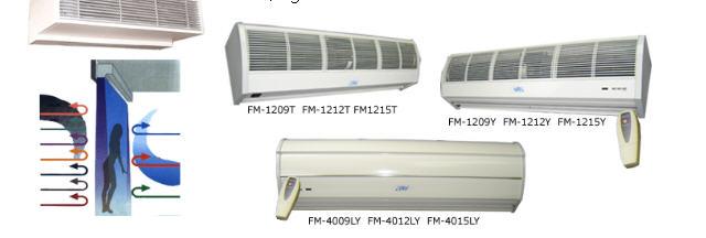 Comprar Aire acondicionado y Cortinas de Aire