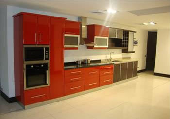 Muebles de Cocina de color rojo comprar en Santiago