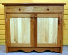 Cómoda con dos tipos de madera fina