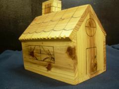 Wooden decorative articles
