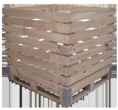 Bins de madera aserrada