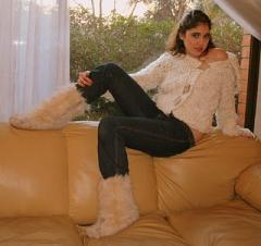 Chaleco de 100% lana flama