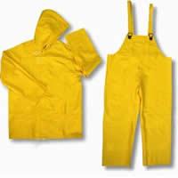 Overalls moisture resistant