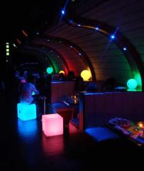 Muebles iluminados