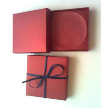 Caja de regalo de carton