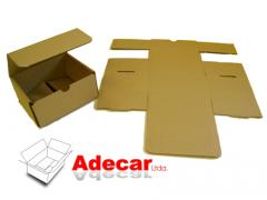 Package made of paper and cardboard