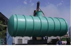 Fosas septicas y depositos de agua