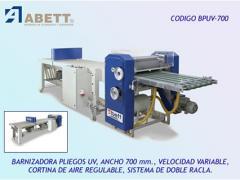 Equipment varnishing