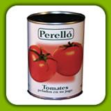 Tomates Pelados en su Jugo