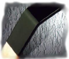 Tubo termocontraíble de color negro