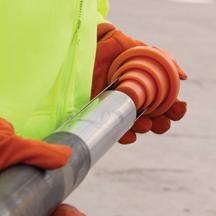 Split tube loader