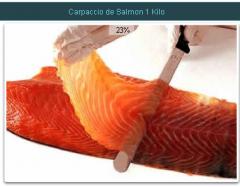 Salmón. Filete de Salmon Laminado 1 Kilo