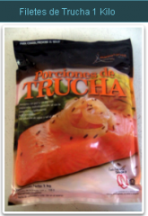 Filetes de Trucha 1 Kilo
