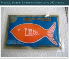 Producto Estrella Salmon Ahumado lacks 200 gramos