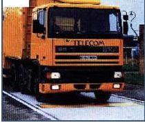 Basculas para camiones estacionarias