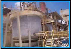 Batería de Reactores para procesos químicos